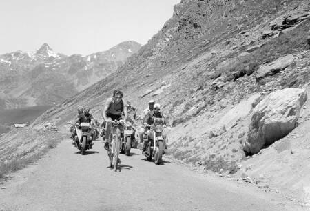 Fausto Coppi ascension sur le Tour 1952
