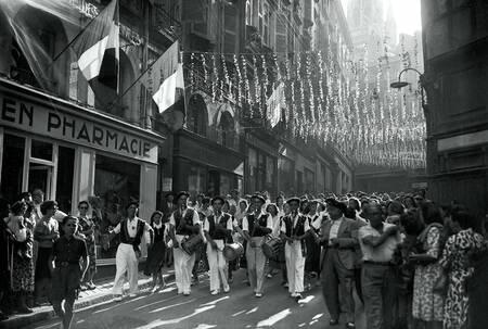 Fêtes de Bayonne en 1948