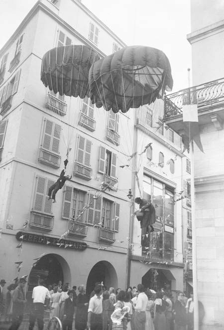 Festivities of Bayonne in 1949