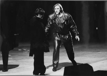 """Gérard Depardieu et Barbara dans """"Lily Passion"""""""