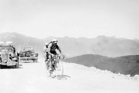 Gino Bartali on the 1938 Tour