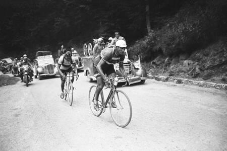 Gino Bartali sur le Tour 1948