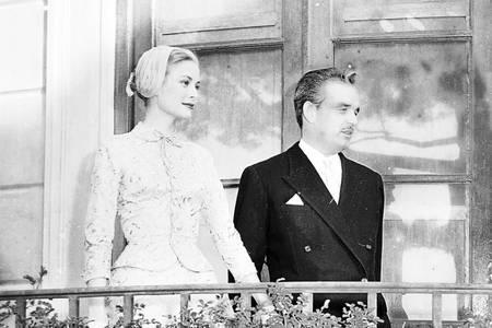 Grace Kelly et le Prince Rainier