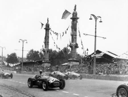 Grand prix automobile à Bordeaux