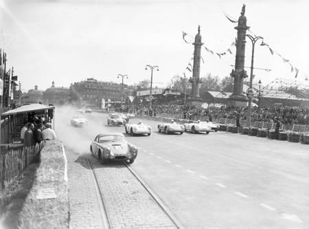 Grand prix automobile de Bordeaux en 1955 b