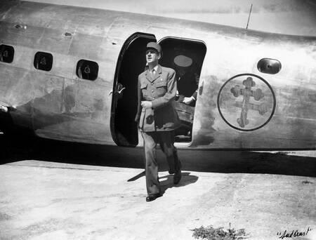 Le Général de Gaulle à Bordeaux en septembre 1944
