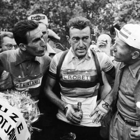 Louison Bobet on the 1955 Tour