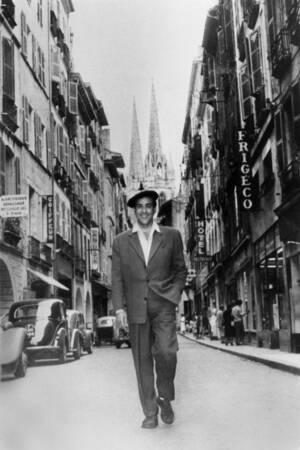 Luis Mariano aux Fêtes de Bayonne en 1969
