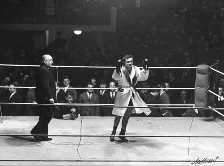 Marcel Cerdan Jr boxing match