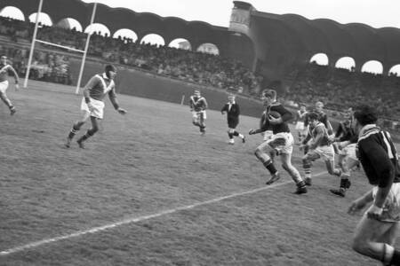 Match de rugby à XIII France-Nouvelle Zelande