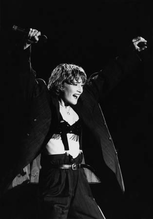 Patricia Kaas aux Francofolies en 1990