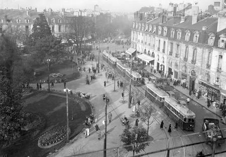 Platz Gambetta Bordeaux 1950