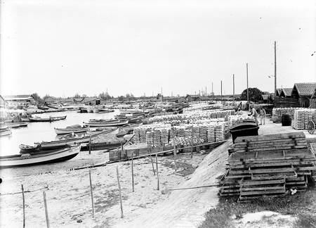 Port ostreicole bassin d'Arcachon