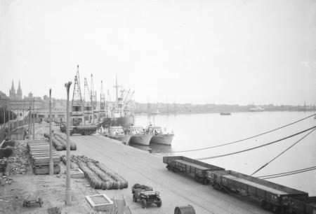 Quai de la Garonne en 1950