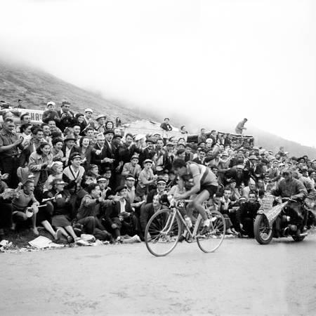 Raphael Geminiani sur le Tour 1952
