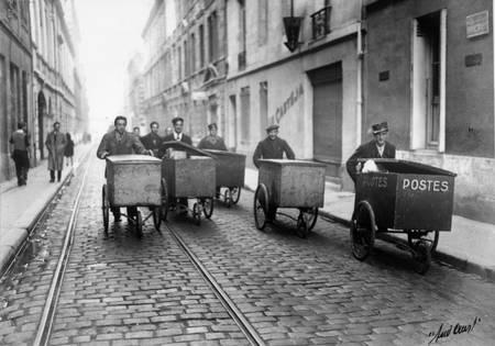 Tournee des postiers de Bordeaux en 1946
