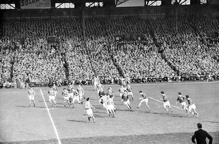 5 Nazioni Torneo di rugby Francia Scozia 1955