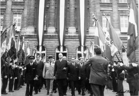Visite du général de Gaulle à Bordeaux
