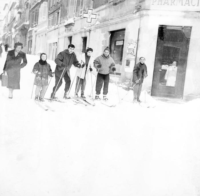 Fevrier 1956 A Bordeaux P