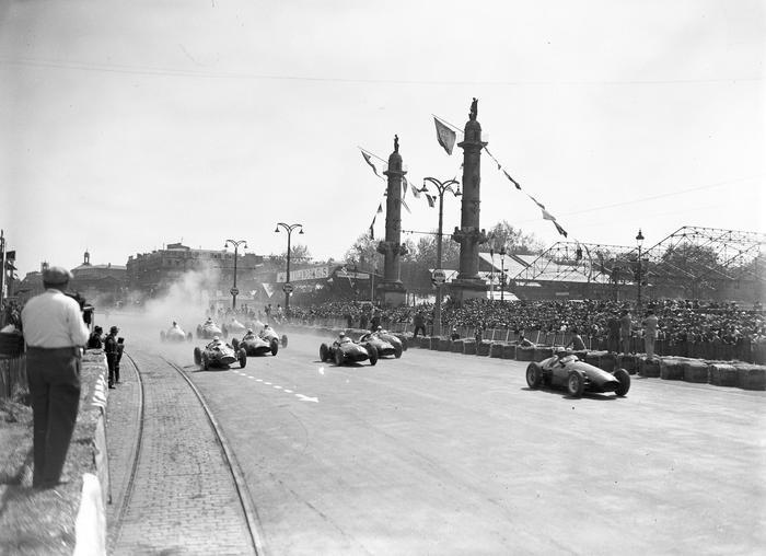 Grand Prix De Bordeaux En 1955
