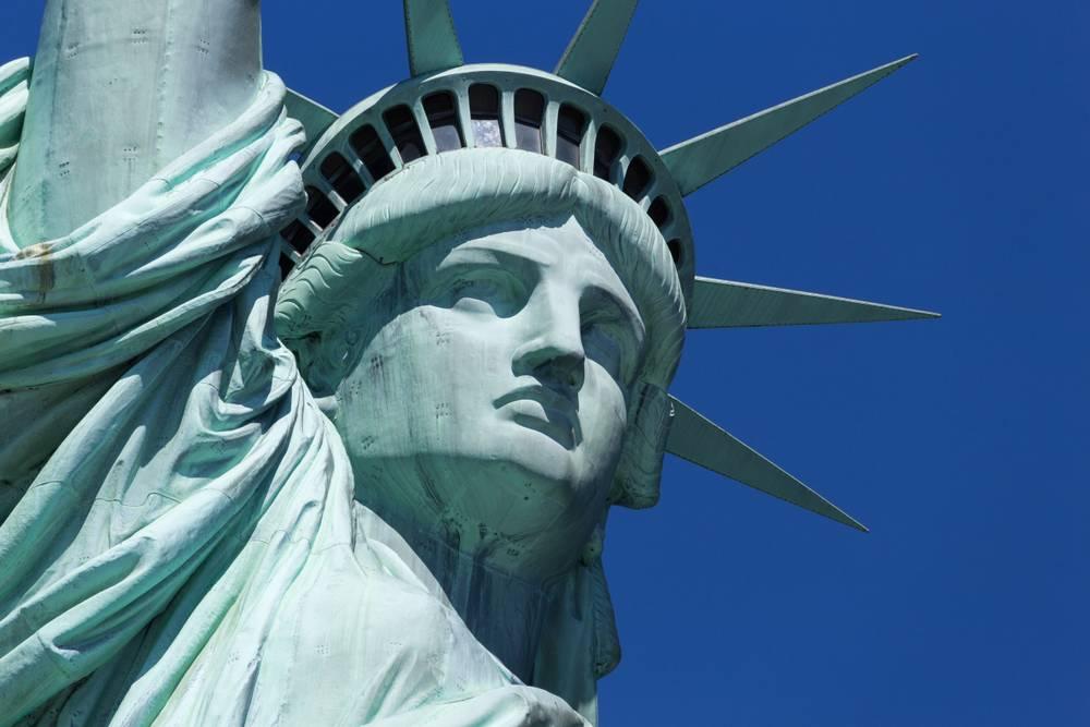 Excellent New York Statue de la Liberté - Dominique Richeux - Fine art  BA03