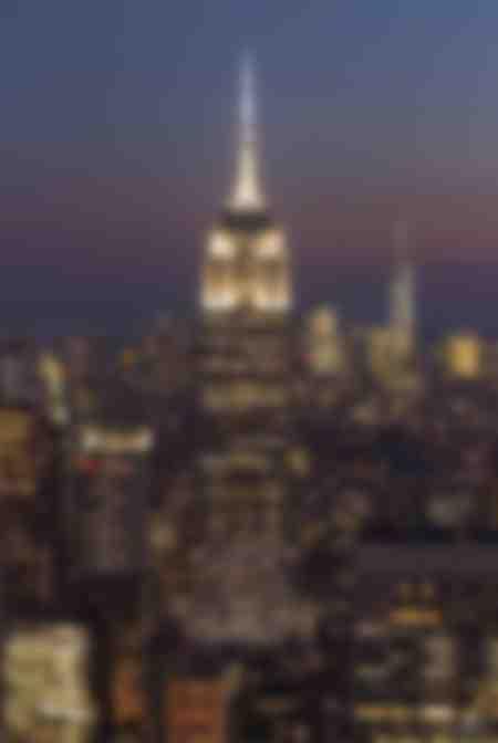 Empire State Building bei Nacht New York