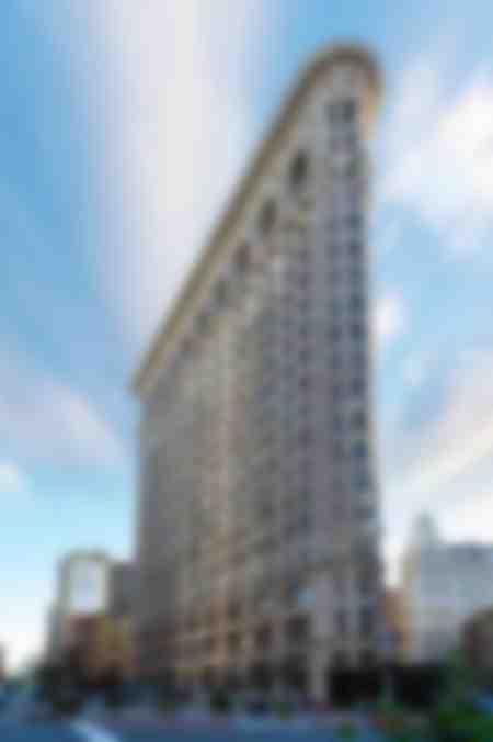 Flachstahlgebäude New York USA