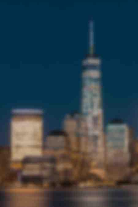 One World Trade Center di notte