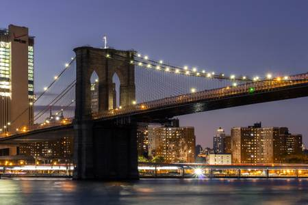 Brooklyn Bridge by Night New York