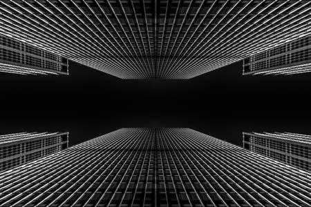 Riflessione degli edifici