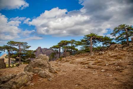 Col de Bavella en Corse