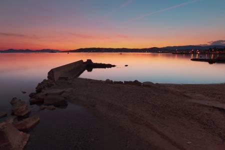 Sunset on the Mediterranean 1