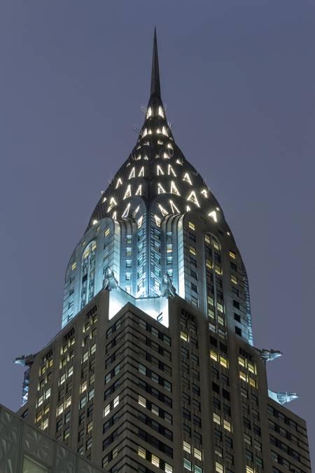 New York Chrysler Building by Night