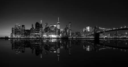 Panoramic Manhattan by Night