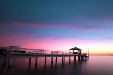 Sunset on Sea 1