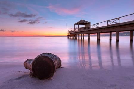 Sunset on Sea 2