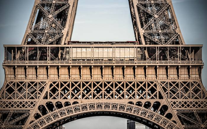 Zoom Sur La Tour Eiffel