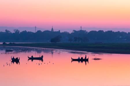 Sunrise in Mandalay - Myanmar
