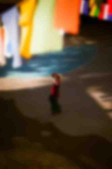 The walking girl
