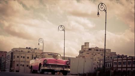 Voiture américaine à La Havane
