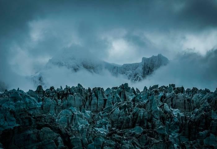 Glacier De La Terre De Feu