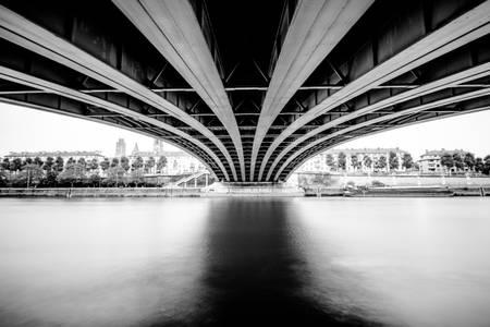 Pierre Corneille Bridge in Rouen