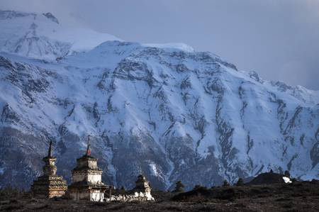 Stupa au Népal