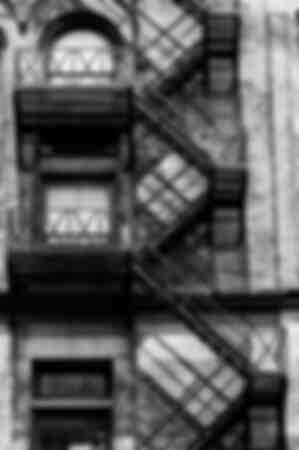 Facade staircase