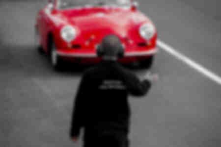 Porsche 356 rossa