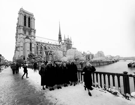 Biancaneve a Notre Dame