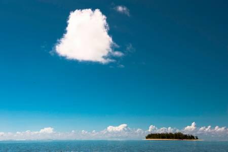 Sur un nuage