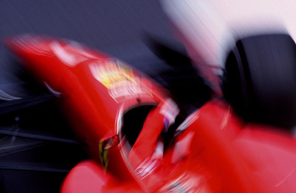 Jean Alesi Ferrari Monaco