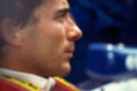 Ayrton Senna Williams 1994 5minutes avant l'ultime départ