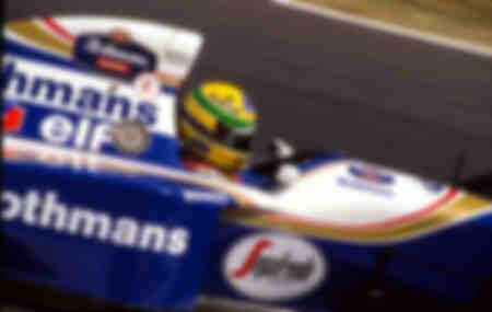 Ayrton Senna Williams Imola 1994 Italia